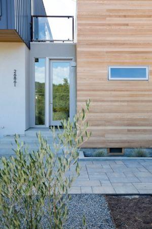 porte entrée - Cloverdale par Elemental Architecture - Usa - Jaime Kowal Photography
