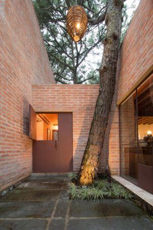 porte extérieure - Pinar house par MO+G Taller de arquitectura - Zapopan, Mexique
