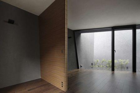 porte vitrée entrée - SRK par Artechnic - Meguro, Japon