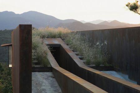chemin d'entrée - Hyunam-house par IROJE Architects & Planners - Gunwi-gun, Corée du Sud