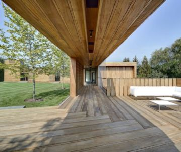 préau - Mothersill par Bates Masi Architects - Water Mill, Usa