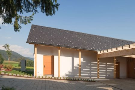 préau entrée - Maison bois par BIRO GASPERIC - Velesovo, Slovenia