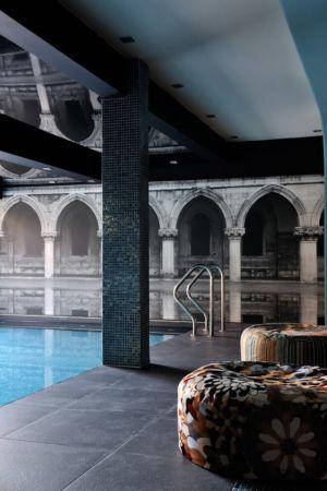 psicine intérieure - Luxury Chalet par Jean-Marc et Anne-Sophie Mouchet - Courchevel, France