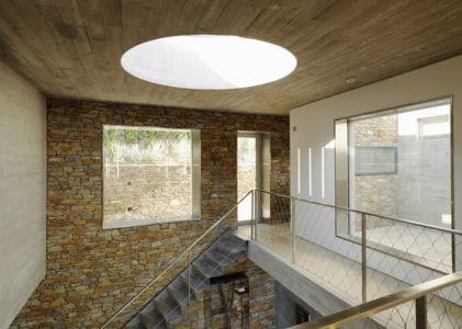 puits de lumière - Maison Le Cap par Pascal Grasso - Var, France