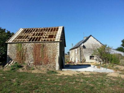 rénovation toiture - Le-Bourg-Neuf par ng-architecte - Bretagne, France