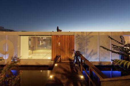 passerelle d'accès - Watervilla par +31ARCHITECTS - Amsterdam, Pays-Bas