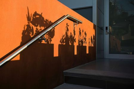 rampe d'accès - Anthrazit House par Architects Magnus - Santa Barbara, Usa