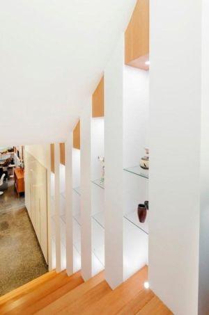 rangements escalier - Double High House par Checkwitch Poiron Architects - Nanaimo, Canada - Concept Photography