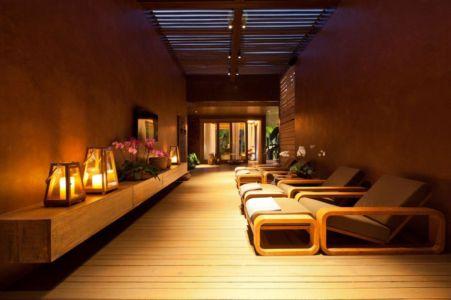 relaxation - Nova Lima House par Saraiva associados - Nova Lima, Brésil - photo Rafael Carrieri