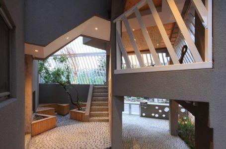 rez de chaussée - Kyeong Dok Jai par Uroje Khm Architects - Corée du Sud