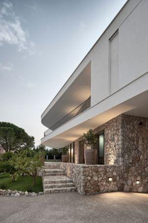 rez de chaussée en pierres - Villa-La-Madone par A2cm - France