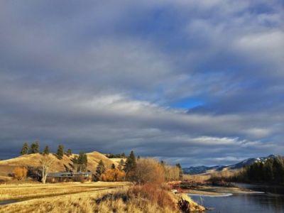 rivière et montagnes - Montana Glass Home par Cutler Anderson Architects - Montana, Usa