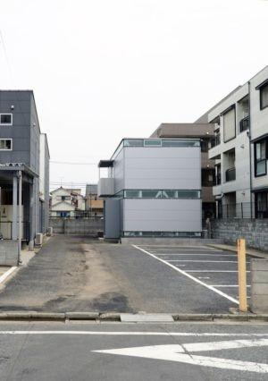 route accès - Boundary House par Niji Architects - Tokyo, Japon