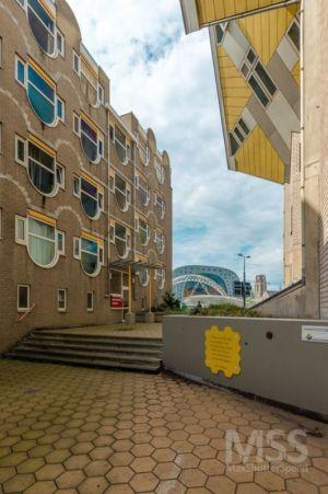route accès - Cube-houses par Piet Blom - Rotterdam, Pays-Bas