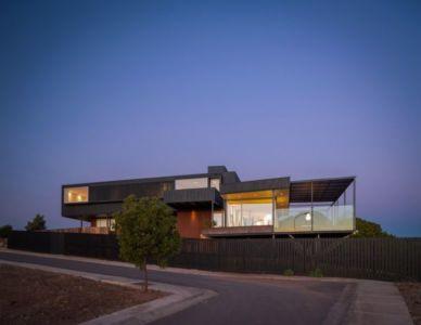 route accès - GB-House par EMA Arquitectos - Concón, Chili