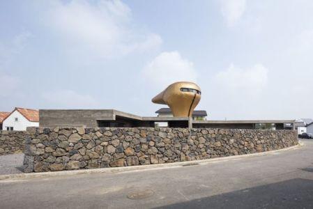 route accès - Wind-House par Moonbalsso - Jesu Island, Corée du Sud