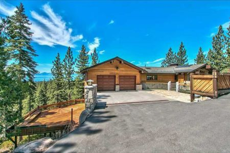 route accès garage - lake-view-cabin - Nevada, USA