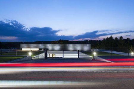 route principale accès - Nemo-house par Mobius Architects - lac Mazurie, Pologne