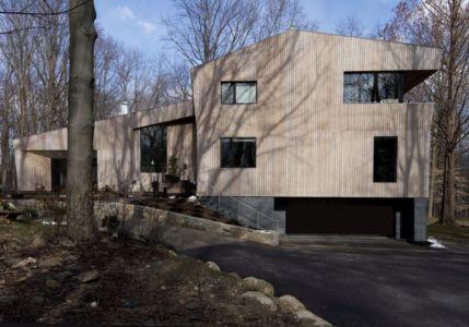 rue accès - DR_RESIDENCE par SU1 Architects + Design - Connecticut, USA