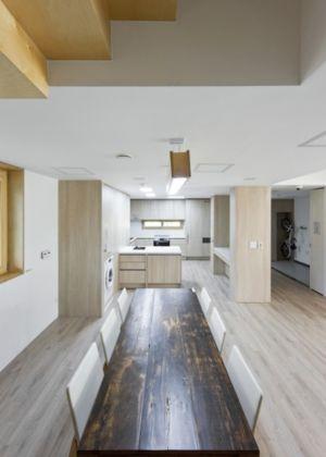 séjour et cuisine - E-Green Home par Unsangdong - Jeondae-ri, Corée du Sud