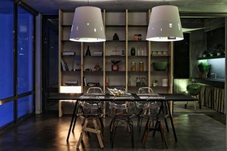 séjour - A&A-House par WoArchitects - Athènes, Grèce