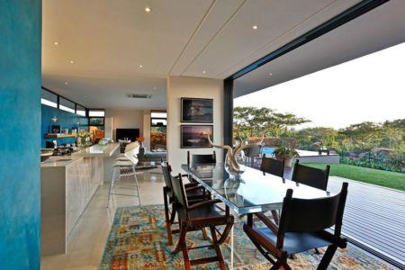 séjour - Aloe Ridge House par Metropole Architects - Kwa Zulu Natal, Afrique du Sud