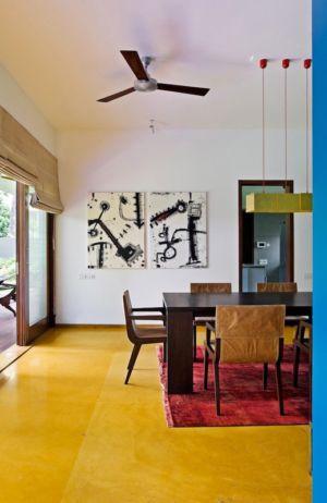 séjour - Bhuwalka House par Khosla Associates - Bangalore, Inde