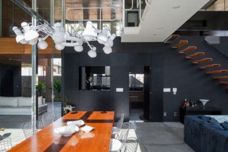 séjour - Botucatu-House par FGMF Arquitetos - Botucatu, Brésil