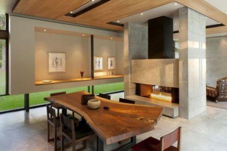séjour - Bray's Island SC Modern II par SBCH Architects - Sheldon, Usa