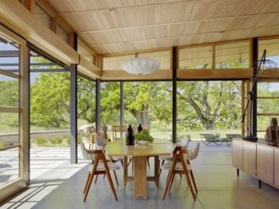 séjour - Caterpillar- House par Feldman Architecture - Californie, USA