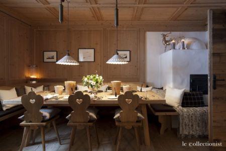 séjour - Chalet Carl à louer à Oberlech en Autriche - Le Collectionist
