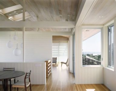séjour - Fire-Island-House par John Butterworth - New-York, USA