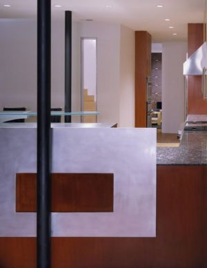 séjour - Hargrave-Residence par Robert M. Gurney Architect - Maryland, Etats-Unis
