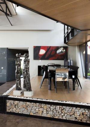 séjour - House Tsi par Nico van der Meulen Architects - Afrique du Sud