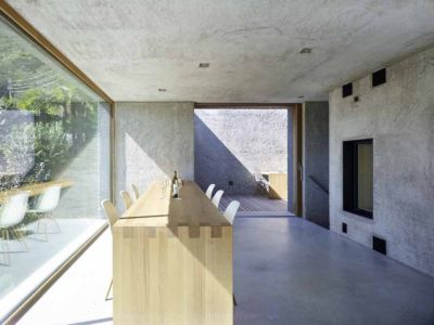 séjour - House in Brissago par Wespi de Meuron Romeo architects - Brissago, Suisse