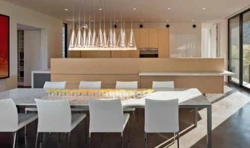 séjour - Levin Residence par Ibarra Rosano Design Architects - Marana, Usa