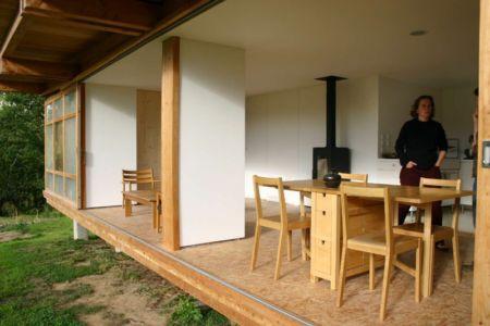 séjour - Maison dans la prairie par Arba - Montreuil, France