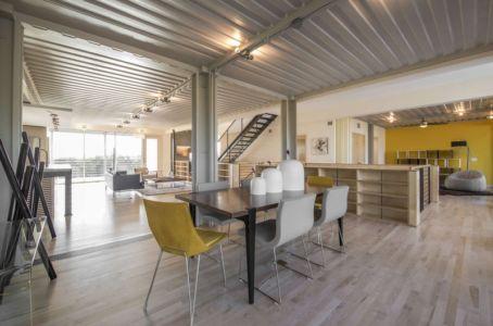 séjour - PV14 House par M Gooden Design - Dallas, Usa