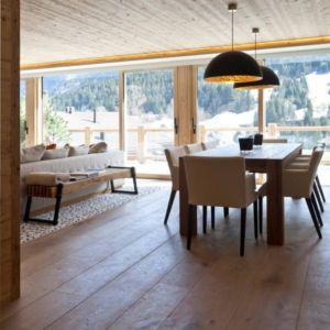 séjour - Rougemont-Residences Plusdesign - Rougemont, Suisse