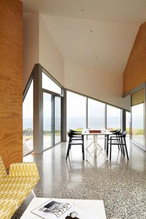 séjour - Scape House par Andrew Simpson Architects - Victoria, Australie