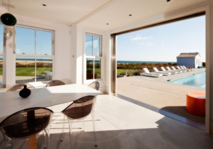 séjour - Squam Residence par J. Brown Builders - Nantucket Island, Usa - photo Jeffrey Allen