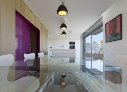 séjour - Villa T  par Boyer Percheron Assus architecture - Saint-Gély-du-Fesc, France