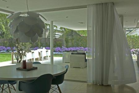 séjour - Villa contemporaine par Clijsters Architectuur Studio - Bilthoven, Pays-Bas