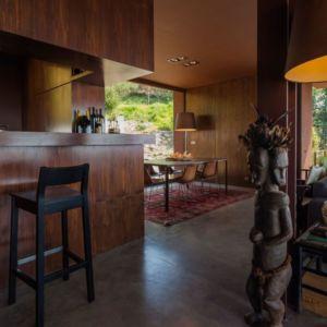 séjour & cuisine - Casa de Seixas par Castro Calapez Arquitectos - Caminha, Portugal