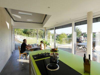 séjour & cuisine - House-Wilhermsdorf par René Rissland - Wilhermsdorf, Allemagne