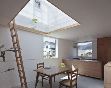 séjour & cuisine - House-Yamasaki par Tato Architects-You Shimada - Hyogo,Japon