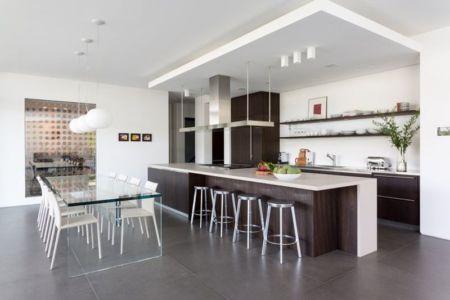 séjour & cuisine - Hucker Residence par Strang - Miami, USA