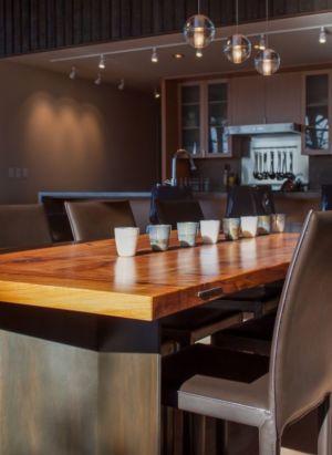 séjour & cuisine - bunny-lane par Heliotrope-Architects - Washington, USA