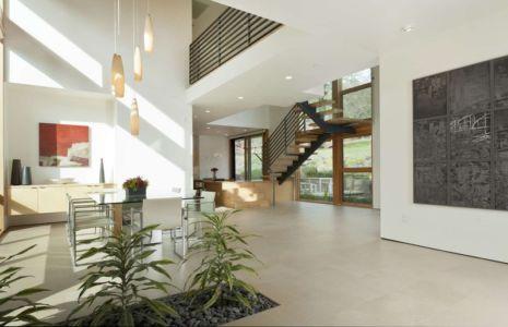 séjour & cuisine - sinbad-creek par Swatt Miers Architects - Sunol, USA