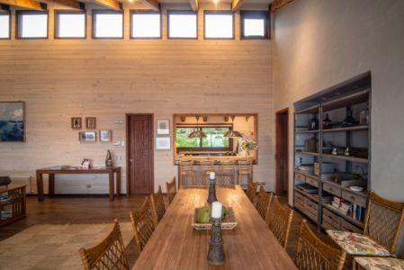 séjour et cuisine - ED House par Eduardo Guzmán Rivera + Juan Carlos Muñoz Del Sante - Chili